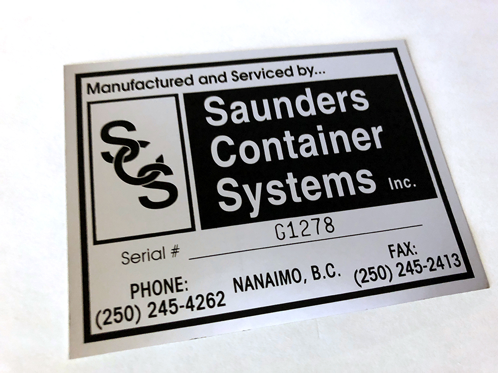 Labels and Decals